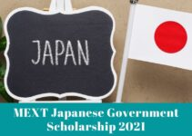 MEXT Japanese Government Scholarship 2021