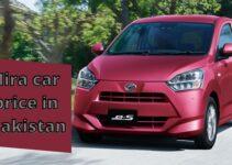 Checking the Daihatsu Mira car price in Pakistan